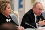 Матвиенко напомнила слова Путина про главного врага россиян