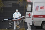 Россия обновила антирекорд посмертям пациентов сCOVID-19